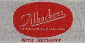 Albackens skinn