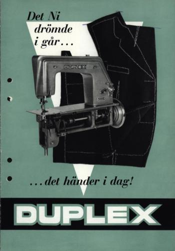 Duplex symaskin01