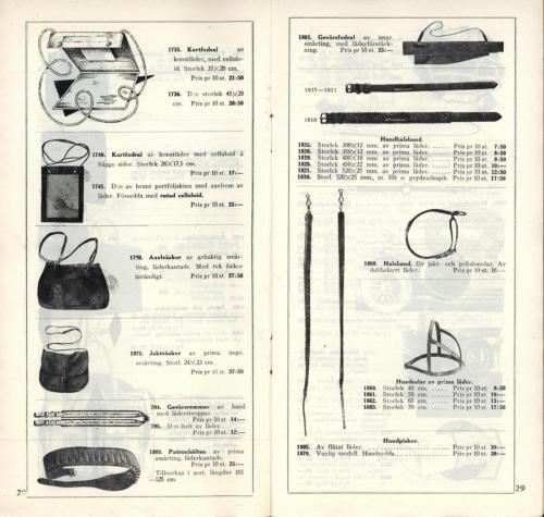 1935 JOFA katalog 16