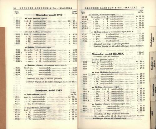 1936 LL prislista09