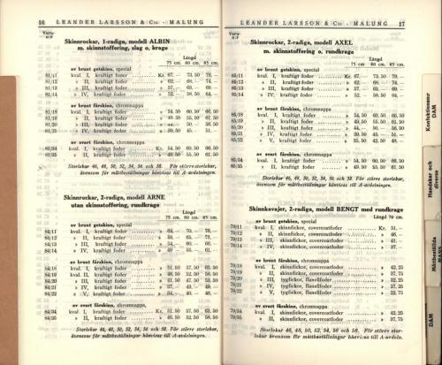1936 LL prislista10