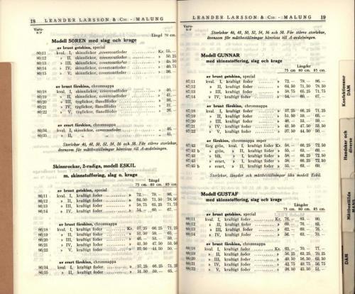 1936 LL prislista11