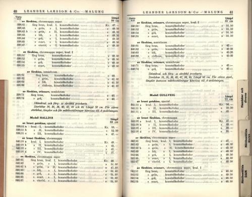 1936 LL prislista22