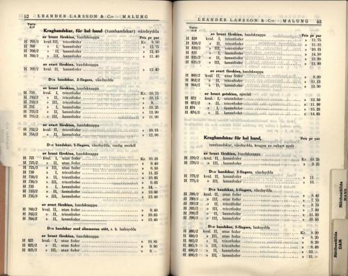 1936 LL prislista28