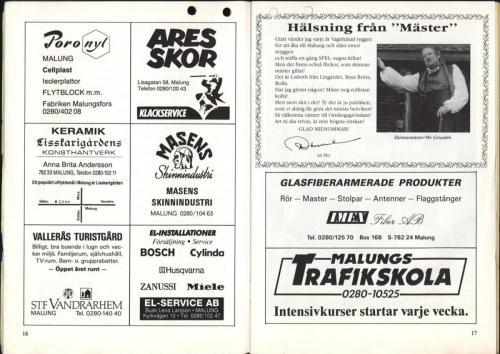 1995 Skinnarspelsprogram 10