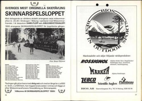 1995 Skinnarspelsprogram 20