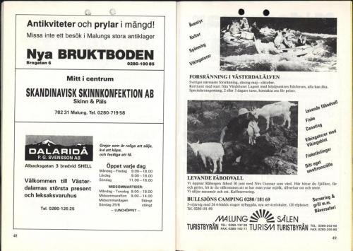 1995 Skinnarspelsprogram 26