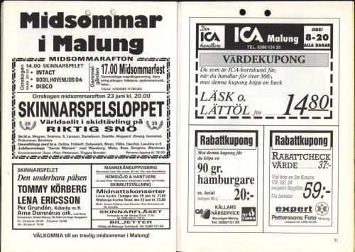 1995 Skinnarspelsprogram 27