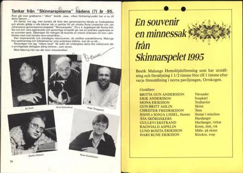 1995 Skinnarspelsprogram 30