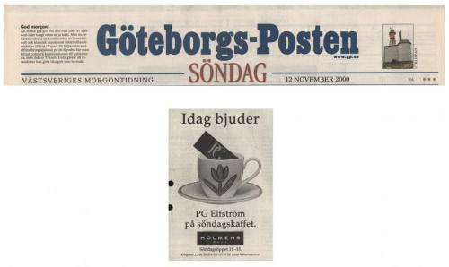20001112 Göteborgsposten
