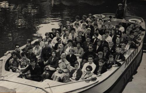 Båttur Göteborg 1961 vidare Köpenhamn
