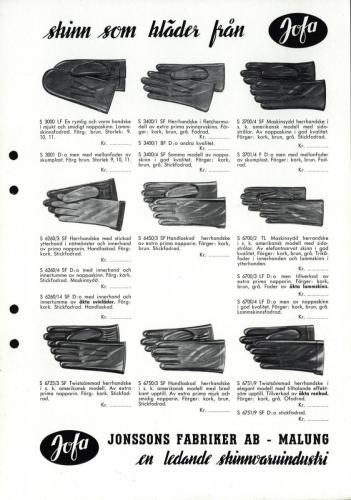 Jonssons fabriiker katalog 22