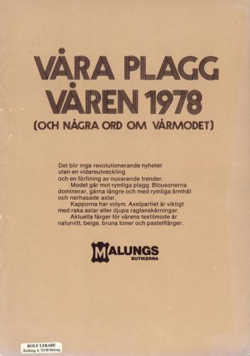 Malungsbutikerna 1978 Blad01