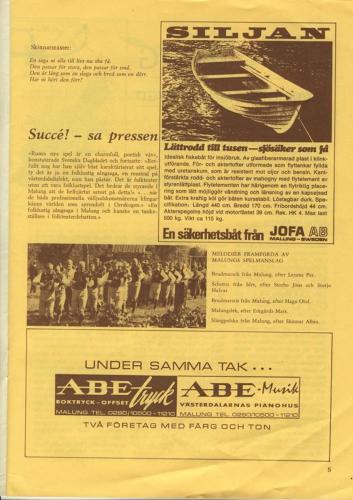Skinnarspelsprogram 1970_09