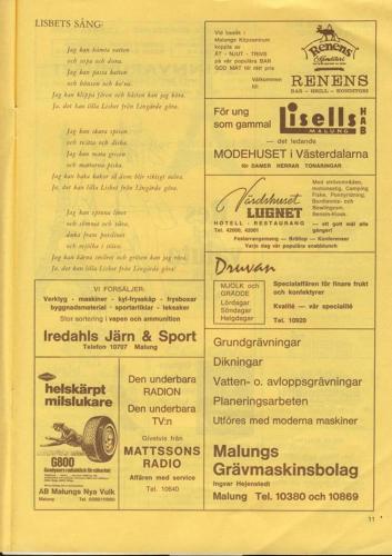 Skinnarspelsprogram 1970_13