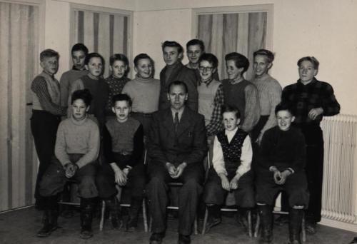 Skinnskolan 1952-53