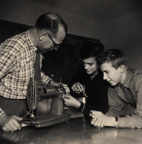 Skinnskolan 1958-59 bild01
