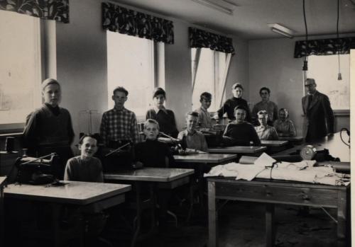 Skinnskolan 1961-62
