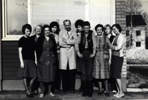 Skinnskolan 1965