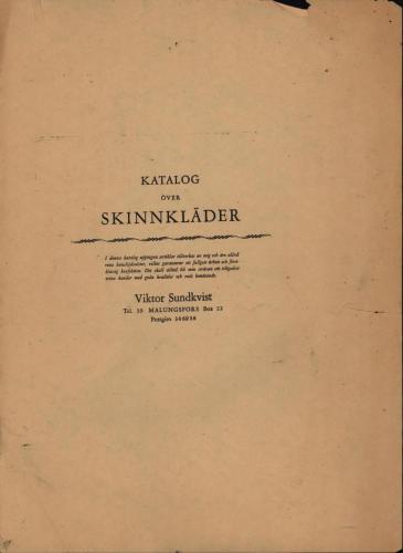 Sundkvist skinn Katalog 01