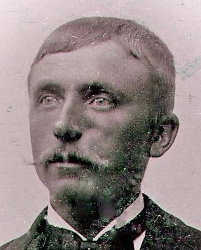 Porträtt Finn Erik i unga år