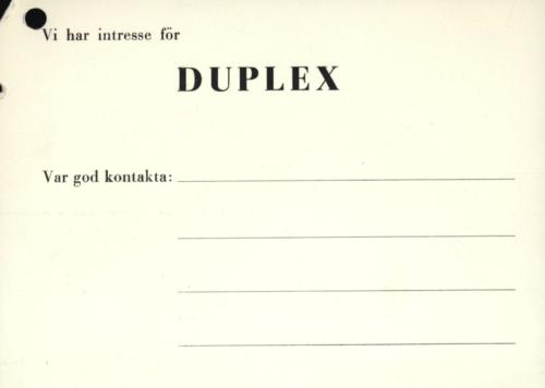 Duplex symaskin04