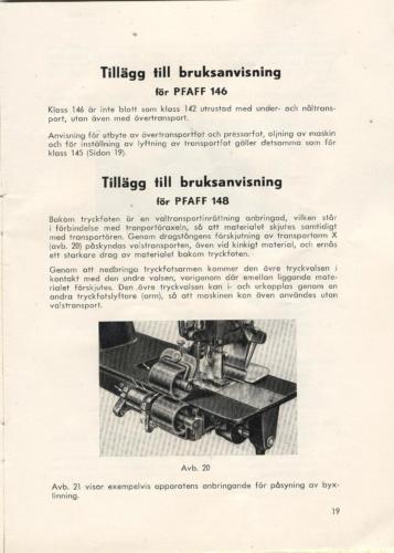 PFAFF sid21
