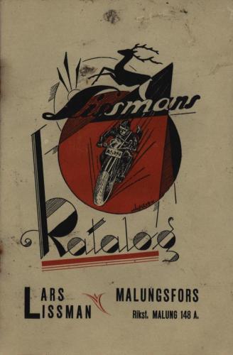 1931 Katalog Lars Lissman 01