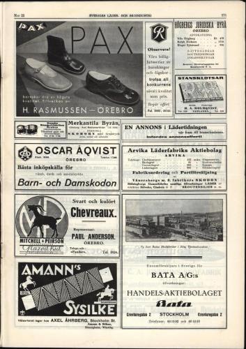 1933 Sverigesladerochskoindustri 23