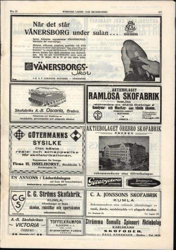 1933 Sverigesladerochskoindustri 25