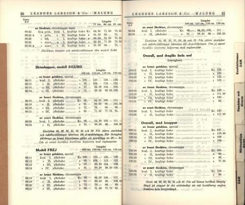 1936 LL prislista12