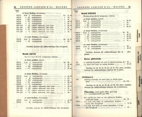 1936 LL prislista14