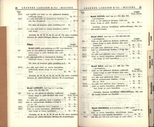 1936 LL prislista15