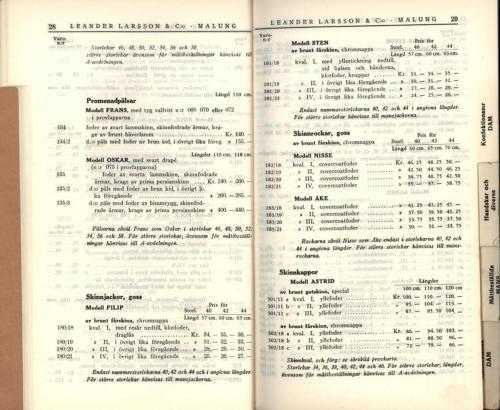 1936 LL prislista16