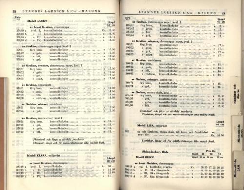 1936 LL prislista26