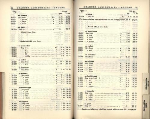 1936 LL prislista35