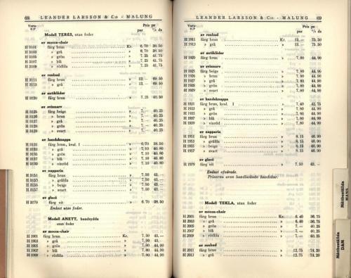 1936 LL prislista36