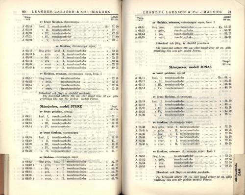 1936 LL prislista47
