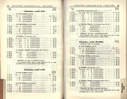 1936 LL prislista48