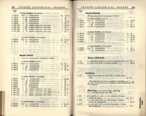 1936 LL prislista53