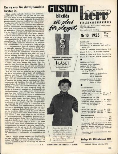 1955 Herrbeklädnadsbranschen sid 299