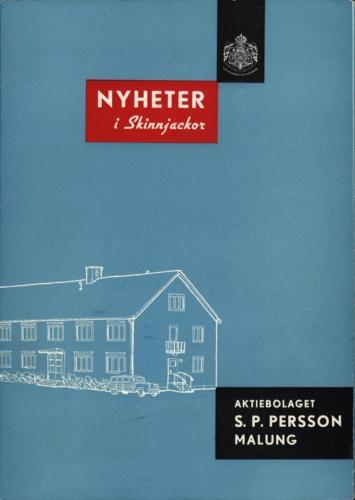 1956 Katalog SP Persson (PG) 01