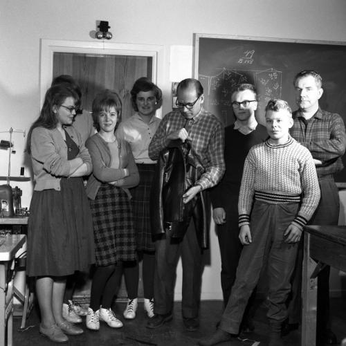 1961 dec 5 Skinnarskolan, Edvin Larsson Edwerns_09