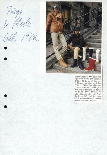 1982 Frisyr och mode