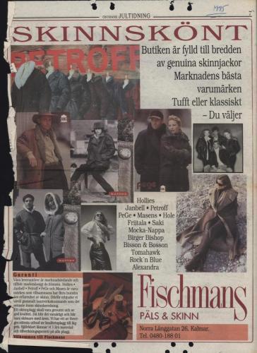 1995 Östrans jultidning