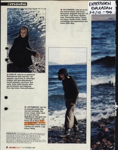 1999 Expressen bilaga Adam & Eva