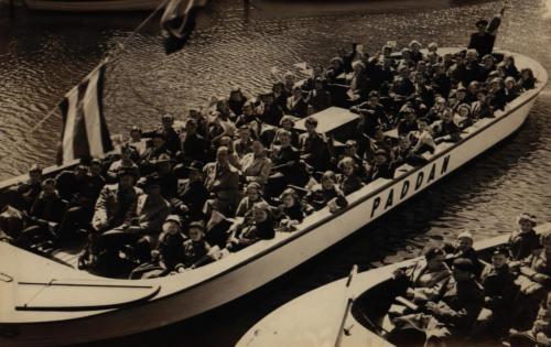 Båttur Göteborg 1955