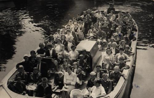 Båttur Göteborg 1959 vidare till Oslo
