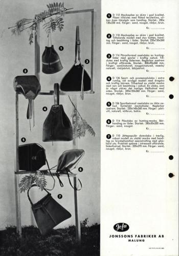 Jonssons fabriiker katalog 33