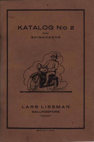 Katalog Lissmans 01 brun